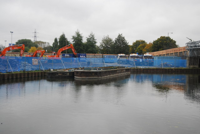 Construction by the River Lea
