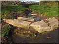 SX8077 : Setts, former granite tramway, Chapple Road by Derek Harper