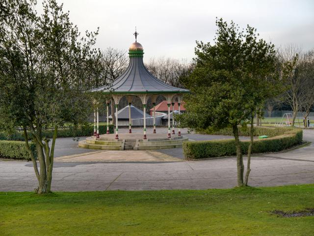 Mesnes Park Bandstand