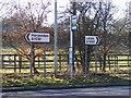 TL1016 : Roadsigns on the A1081 London Road by Adrian Cable