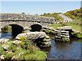SX6577 : Bridges at Bellever by Tony Atkin