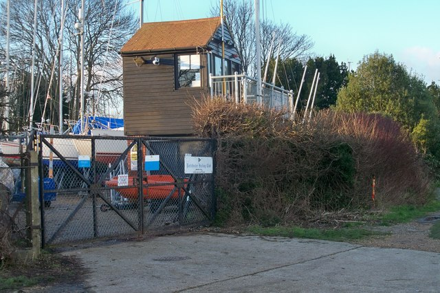 Starter's Stand - Portchester Sailing Club