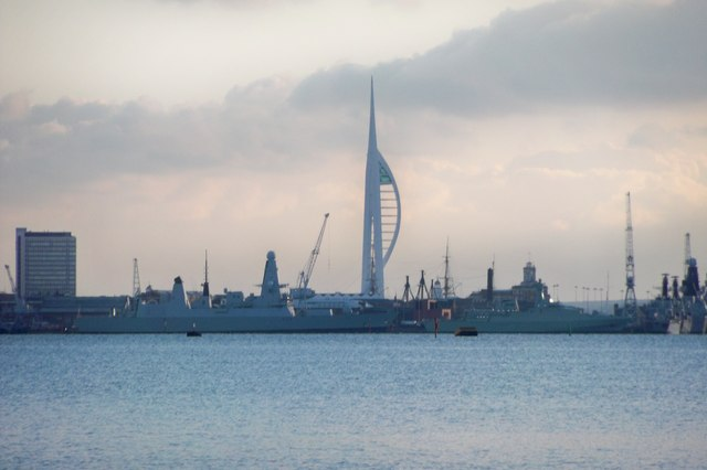 Portsmouth Skyline from Portchester