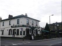 TQ2370 : The Swan, public house, Wimbledon by David Anstiss
