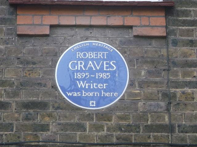 Robert Graves Blue Plaque