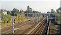 SP7944 : Site of Castlethorpe station, West Coast Main Line, 1991 by Ben Brooksbank