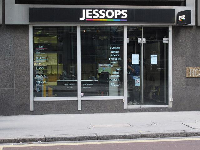 Jessops, Fenchurch Street, City of London