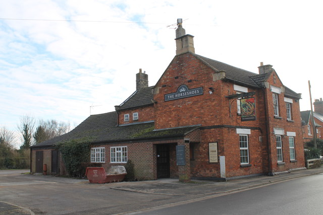 The Horseshoes Pub, Silk Willoughby