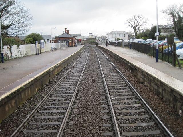 Camborne railway station, Cornwall