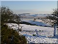 NU1520 : Winter view from Rocket Hill by Russel Wills