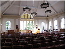 TQ5130 : All Saints Church, Church Road, TN6 - interior (2) by Mike Quinn