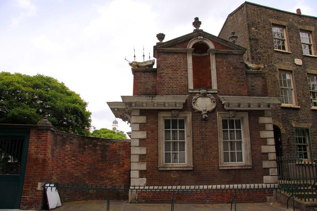 The right wing of the Trinity Alms Houses
