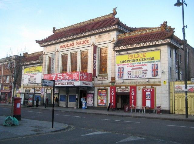 Southall: Former Himalaya Palace Cinema
