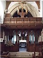 SU0996 : Rood screen, All Saints Church, Down Ampney by Vieve Forward