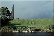N8056 : Trim, county Meath: view across the Boyne to the Yellow Steeple by Christopher Hilton