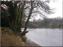 SD4964 : Motorway bridge over the River Lune by John Slater