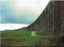 SD7579 : Ribblehead Viaduct by Gerald England