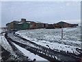 TL4892 : Cranmore Lots Farm, Manea in mid winter by Richard Humphrey