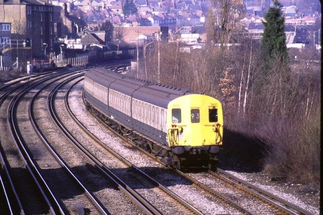 Train near Forest Hill