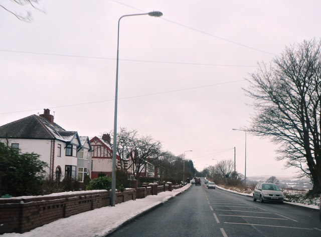 The A675 Belmont Road