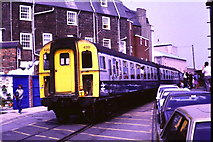 SY6878 : Train at Custom House Quay, Weymouth by Malc McDonald