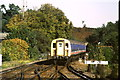 SU8650 : Train approaching Aldershot by Malc McDonald