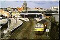 TA0388 : Train leaving Scarborough by Malc McDonald