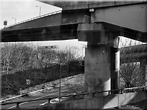 SP0990 : M6, Gravelly Hill Interchange by David Dixon