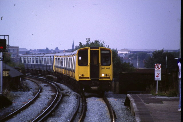 Train at Bootle