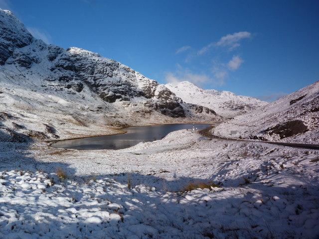 A Wintry view of Loch Restil