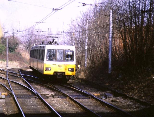 Tyne & Wear Metro at South Gosforth