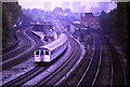 TQ2484 : Railway lines at Kilburn by Malc McDonald