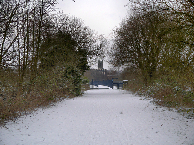 Outwood Trail Approaching Radcliffe