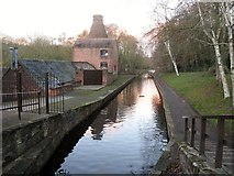 SJ6902 : Coalport China Museum And Shropshire Canal by Rude Health
