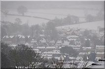SS9612 : Tiverton : Snowy Scenery by Lewis Clarke