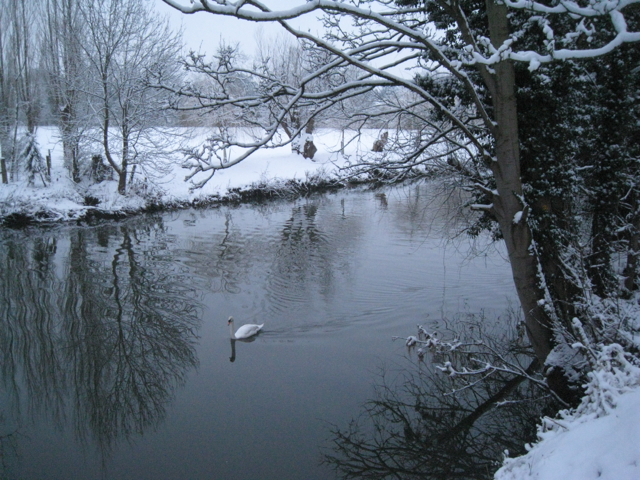 River Avon after the snow of 20-01-2013 (1)