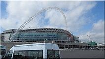 TQ1985 : Wembley Stadium by J WILLIAMS