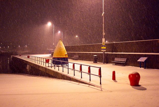 Snowfall, Bangor
