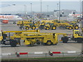 TQ2740 : Snow clearing equipment at Gatwick Airport by M J Richardson
