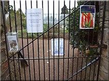 SX9063 : Torre Abbey Gardens closed by Derek Harper
