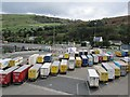 NX0767 : Parked lorries, Cairnryan by Richard Webb