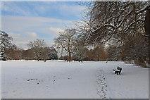 TQ2992 : Arnos Park, London N11 by Christine Matthews