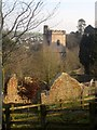 SX8767 : Ruined manor house and church, Kingskerswell by Derek Harper