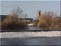 SK3536 : River Derwent at Derby by Tim Glover