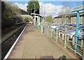 ST1490 : Llanbradach railway station, Monmouthshire by Nigel Thompson