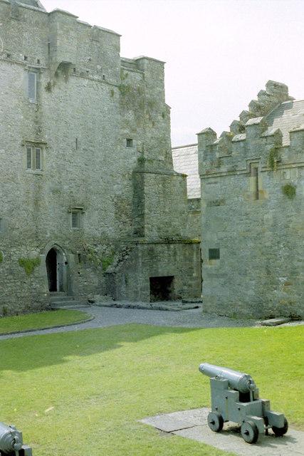 Cahir Castle bailey