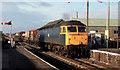 SD0989 : Nuclear flasks train, Bootle, Cumbria by Albert Bridge