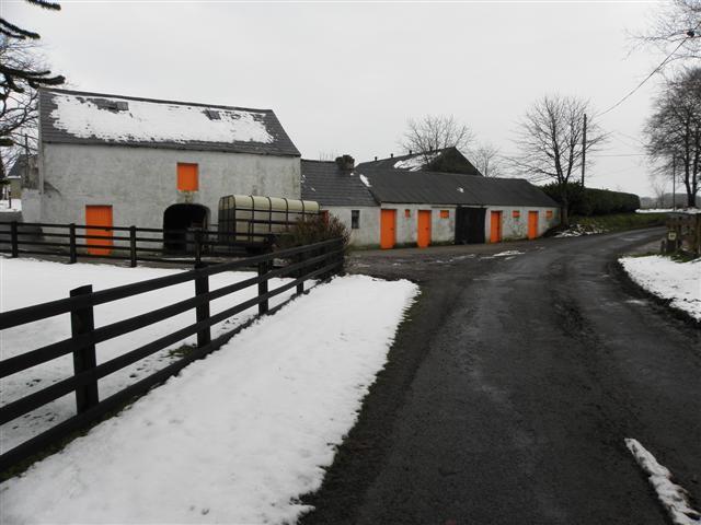 Traditional farm buildings, Mullaslin