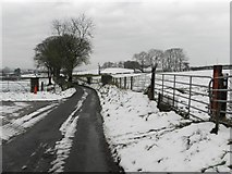 H5572 : Wintry along Shinnagh Road by Kenneth  Allen