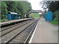 ST1478 : Danescourt railway station, Cardiff by Nigel Thompson